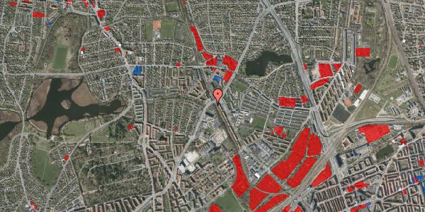 Jordforureningskort på Hf. Bispevænget 38, 2400 København NV