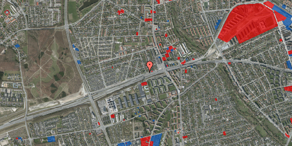 Jordforureningskort på Allingvej 26, 2650 Hvidovre