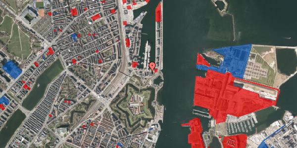 Jordforureningskort på Indiakaj 14A, 2. tv, 2100 København Ø