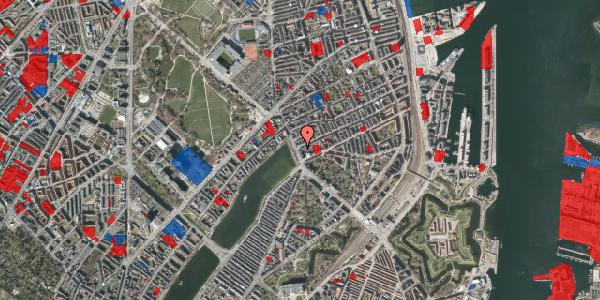 Jordforureningskort på Willemoesgade 2, st. , 2100 København Ø