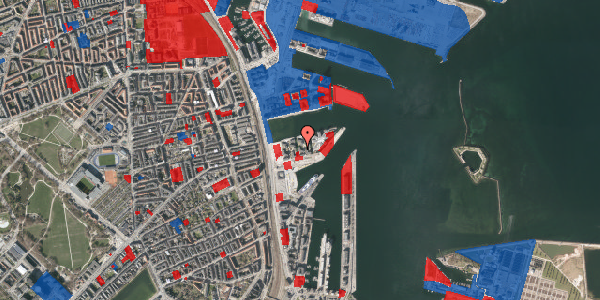 Jordforureningskort på Marmorvej 25, 2. tv, 2100 København Ø