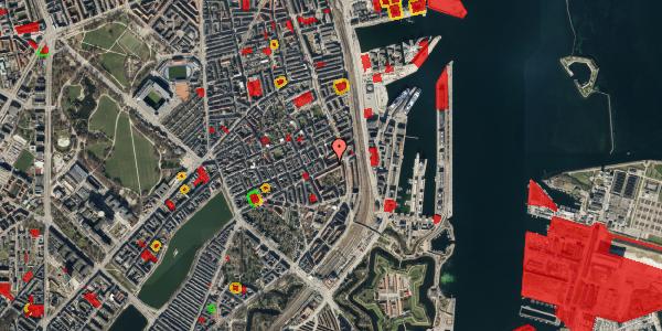 Jordforureningskort på Classensgade 61, 5. th, 2100 København Ø