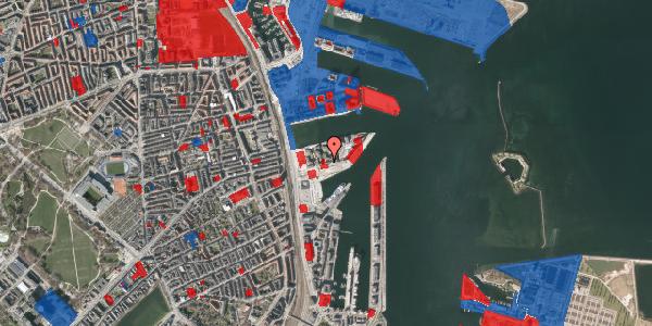 Jordforureningskort på Marmorvej 19, 1. th, 2100 København Ø
