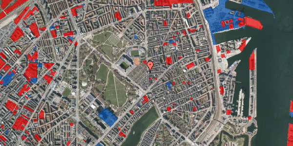 Jordforureningskort på Østerbrogade 51B, 2100 København Ø