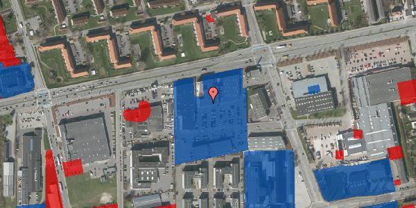 Jordforureningskort på Hermods Allé 6A, 2. th, 2600 Glostrup