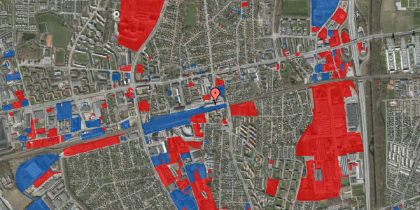 Jordforureningskort på Banegårdsvej 216B, 2600 Glostrup