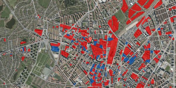Jordforureningskort på Glasvej 33, 3. th, 2400 København NV