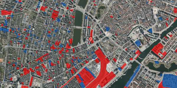Jordforureningskort på Meldahlsgade 3, 2. , 1613 København V