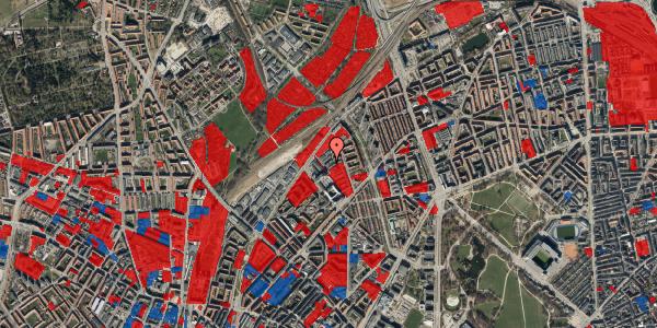 Jordforureningskort på Emblasgade 91, 1. th, 2100 København Ø