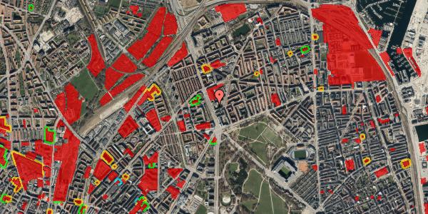 Jordforureningskort på Lyngbyvej 18, st. th, 2100 København Ø