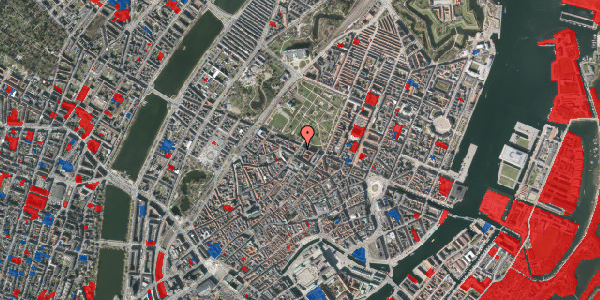 Jordforureningskort på Landemærket 26, 1119 København K