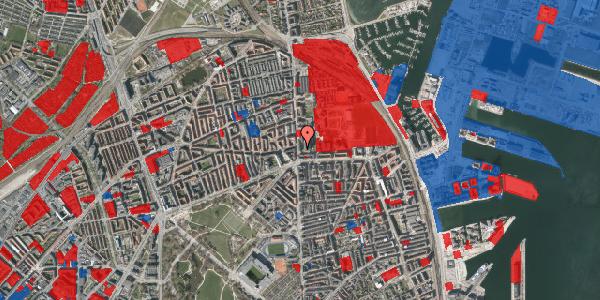 Jordforureningskort på Østerbrogade 160A, 2100 København Ø