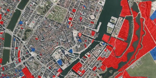 Jordforureningskort på August Bournonvilles Passage 5, st. , 1055 København K