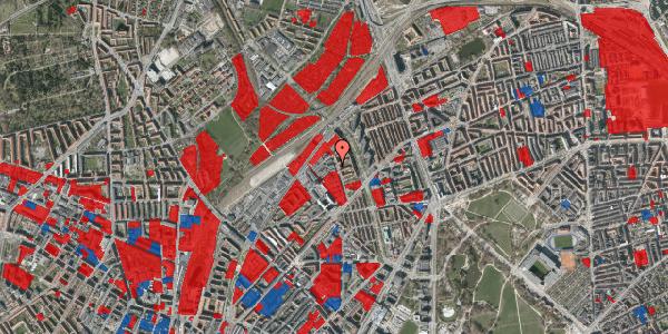 Jordforureningskort på Emblasgade 123, 1. tv, 2100 København Ø