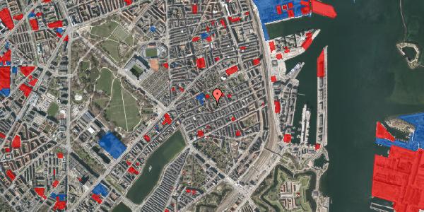 Jordforureningskort på Saabyesvej 8, kl. 4, 2100 København Ø