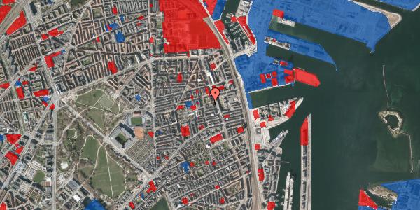 Jordforureningskort på Vejlegade 10, kl. 1, 2100 København Ø