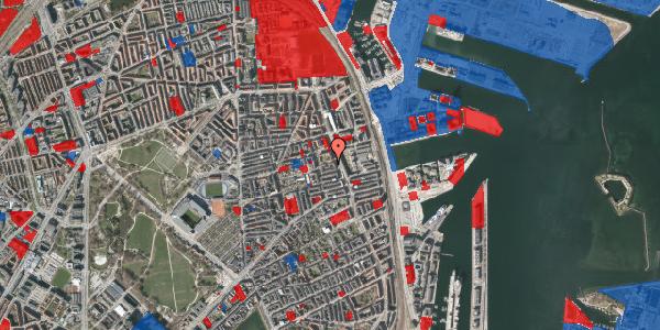 Jordforureningskort på Vejlegade 10, kl. 7, 2100 København Ø