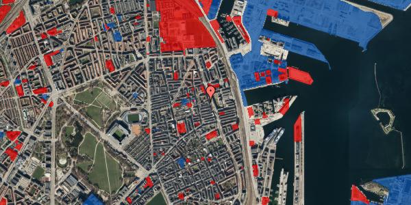Jordforureningskort på Vejlegade 10, kl. 6, 2100 København Ø