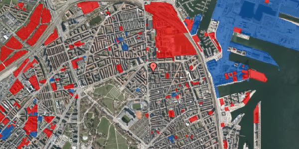 Jordforureningskort på Vordingborggade 2B, st. , 2100 København Ø