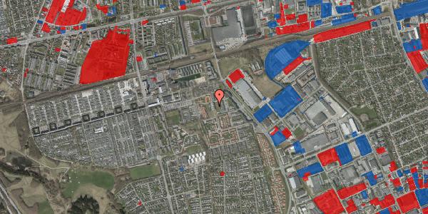 Jordforureningskort på Hvidkløvervænget 17, 2625 Vallensbæk