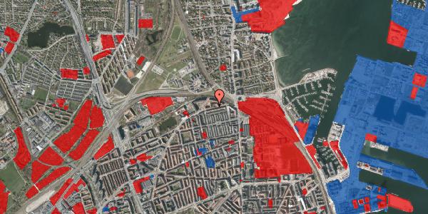 Jordforureningskort på Edvard Griegs Gade 14B, 2100 København Ø