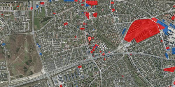 Jordforureningskort på Hvidovrevej 129, st. , 2650 Hvidovre