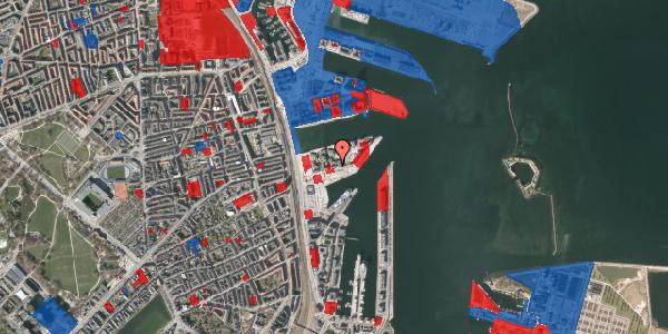 Jordforureningskort på Marmorvej 21, 1. th, 2100 København Ø