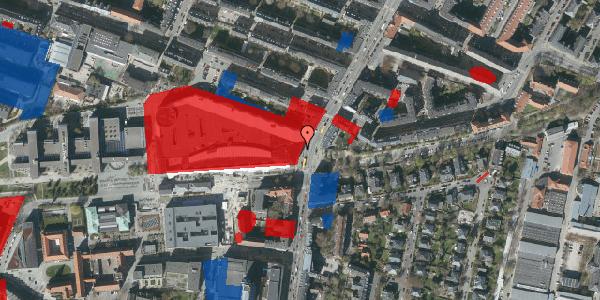 Jordforureningskort på Falkoner Alle 21, 3. 4050, 2000 Frederiksberg