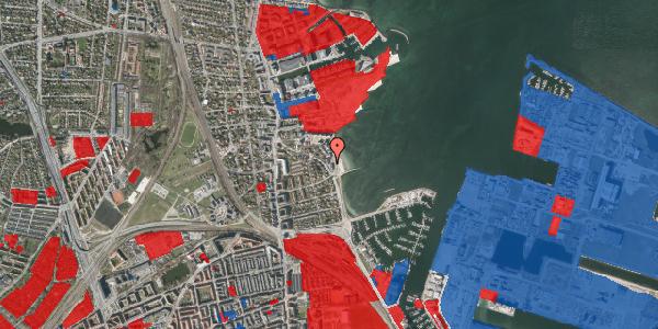 Jordforureningskort på Strandpromenaden 45, 2100 København Ø