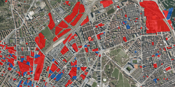 Jordforureningskort på Haraldsgade 70, 1. , 2100 København Ø