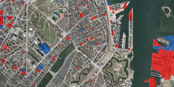 Jordforureningskort på Classensgade 34B, 2100 København Ø