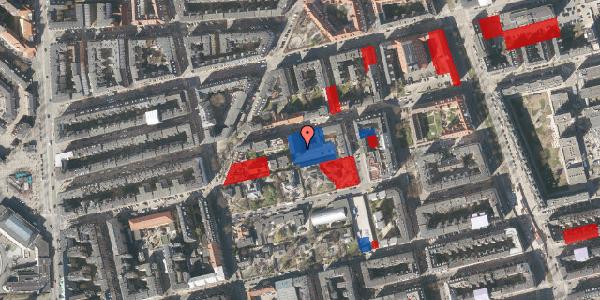 Jordforureningskort på Viborggade 70C, st. , 2100 København Ø