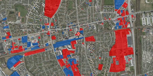 Jordforureningskort på Banegårdsvej 118, 2600 Glostrup