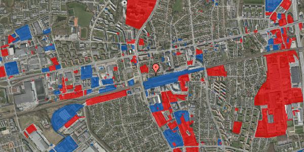 Jordforureningskort på Sydvestvej 43D, 2600 Glostrup