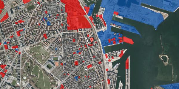 Jordforureningskort på Århusgade 102, 2100 København Ø
