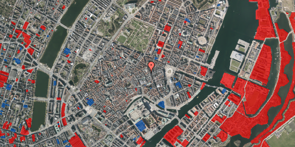 Jordforureningskort på Antonigade 7B, 1106 København K