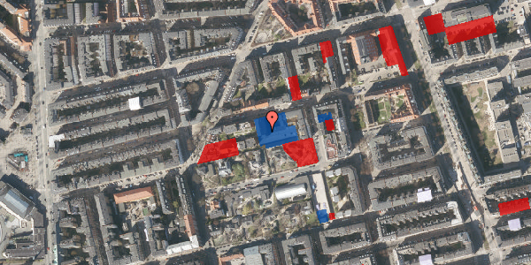 Jordforureningskort på Viborggade 70C, 2100 København Ø