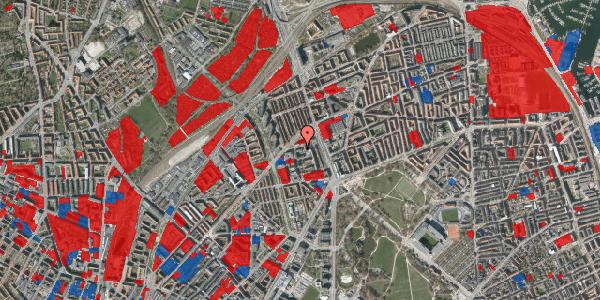 Jordforureningskort på Ragnagade 11, 2100 København Ø