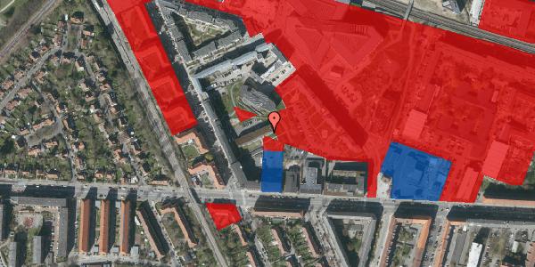 Jordforureningskort på Flintholm Alle 4C, 2000 Frederiksberg