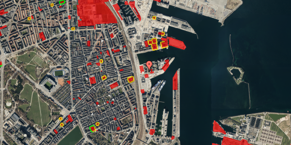 Jordforureningskort på Marmorvej 7F, 3. tv, 2100 København Ø