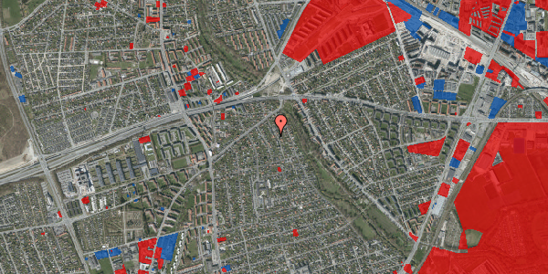 Jordforureningskort på Birke Alle 12A, 2650 Hvidovre