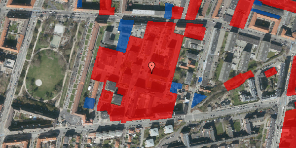 Jordforureningskort på Nimbusparken 26, 3. 4, 2000 Frederiksberg
