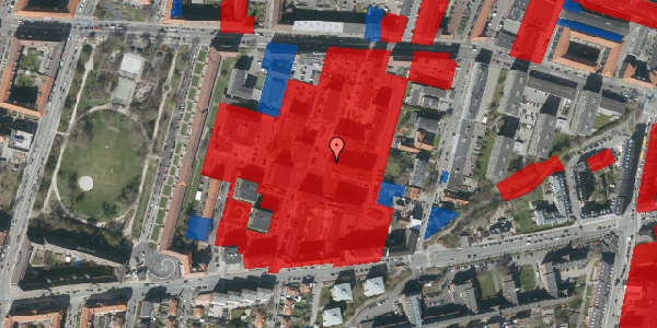 Jordforureningskort på Nimbusparken 26, 4. 3, 2000 Frederiksberg