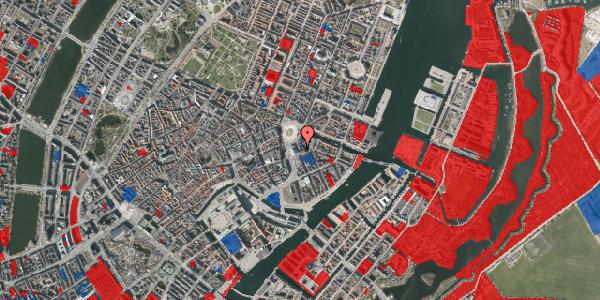 Jordforureningskort på August Bournonvilles Passage 3, 4. , 1055 København K