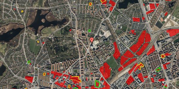 Jordforureningskort på Peter Rørdams Vej 2B, 2400 København NV