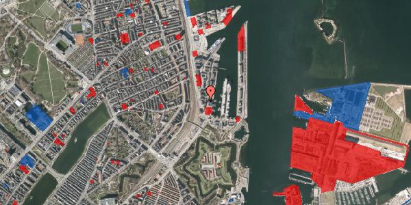 Jordforureningskort på Dampfærgevej 7, 1. , 2100 København Ø