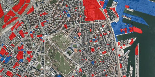 Jordforureningskort på Østerfælled Torv 20, st. , 2100 København Ø