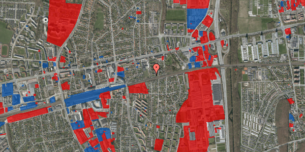 Jordforureningskort på Florasvej 35, 2600 Glostrup