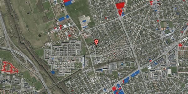 Jordforureningskort på Mellemvangsvej 92, 2650 Hvidovre