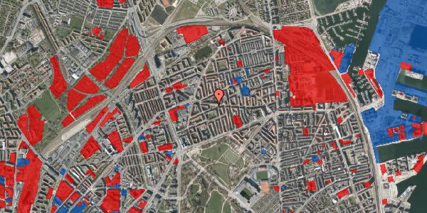 Jordforureningskort på Tåsingegade 43, 2100 København Ø
